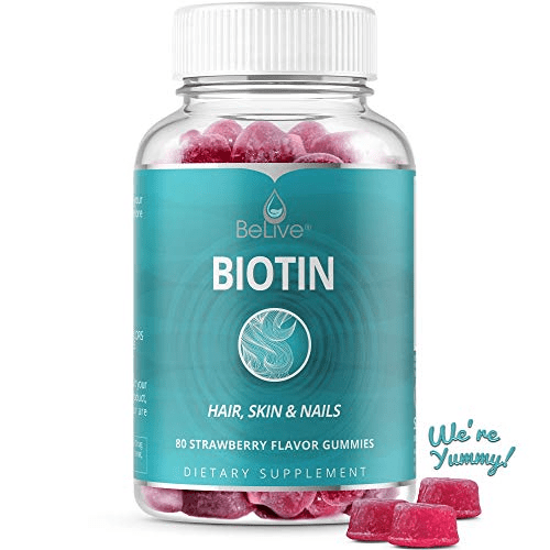 BeLive Biotin Gummies- Best vegan gummy option available