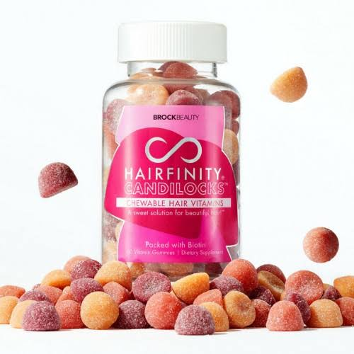 Candilocks Chewable Hair Vitamins by Hairfinity – Best Overall vitamin supplement for hair loss